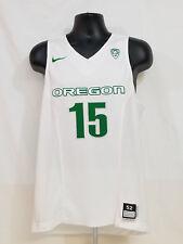 2015-2016 Oregon DUCKS TEAM ISSUED Nike Basketball JERSEY   Men's 52 L +2