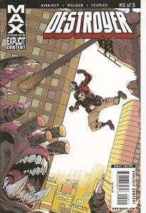 °DESTROYER #2 PART 2 von 5° US Marvel MAX 2009 Robert Kirkman