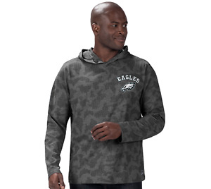 MSX by Michael Strahan for NFL Long Sleeve Camo Hoodie Eagles XL A385564