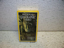 National Geographic Lost Kingdoms of the Maya VHS Video Out Of Print