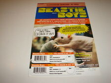 BEASTIE BOYS CHECK IT OUT!!!!!!!!!RARE FRENCH PRESS/KIT