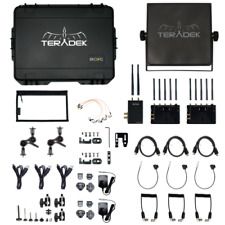 Teradek Bolt XT 3000 SDI/HDMI Wireless TX/2RX Deluxe Kit Panel Array Gold Mount