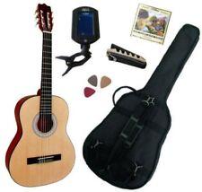 Pack Guitare Classique 1/2 Pour Enfant (6-9ans) Avec 5 Accessoires (nature)