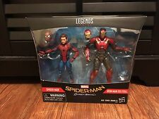 Marvel Legends SPIDER-MAN Homecoming & IRON MAN 2-Pack Toys R Us Exclusive TRU