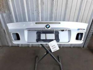 BMW E46 325ci 330ci M3 Convertible Trunk Lid Deck Lid Hatch Silver 41628262029