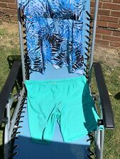 Rosegal Blue And Green 2 Piece Swimsuit With Long Shorts Size 20/22/24 (3XL)