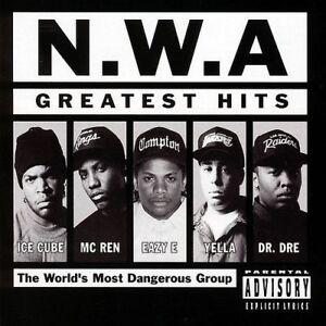 N.W.A. Greatest Hits CD BRAND NEW Best Of Ice Cube Eazy E Dr. Dre NWA