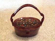 Wilardy Sweetheart Purse Twisted Handle Sparkling Jeweled Top Hand Bag 1950 Rare
