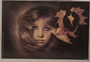 PRL) 1980 SEPTEMBER LOVE VINTAGE AFFICHE ART PRINT POSTER JOY CAROS VERKERKE