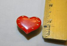 Metal Painted Red Heart Magnetic