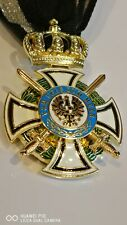 More details for new collectable german prussian ww1 ww2 hehenzollern order military medal