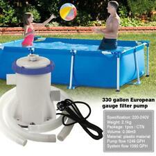 300 Gallon Water Purification Filter Pump Swimming Pool Water Purifier