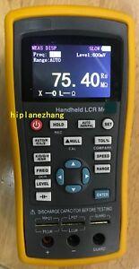 """Handheld LCR Meter L/C/R/Z/X/D/Q/θ/ESR 100Hz/120Hz/1KHz/10KHz 2.8"""" TFT LCD USB"""