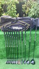 Mens RH Wilson Ultra Full Graphite Golf Clubs Set Irons Woods Bag ⛳️⛳️
