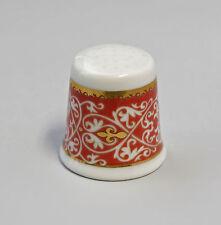 Kämmer PORCELLANA ditale Fiore Ornament ORO/ROSSO 2,5x2,6cm 88226