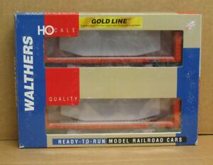 WALTHERS 932-240059 HO 2-Pack NAFX 50' Bulkhead Flatcars