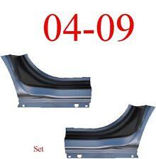 04 09 Dodge Durango Dog Leg Set Assembly Patch Panel