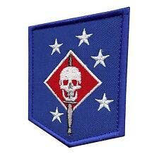 Marines MARSOC USMC Raiders embroidered badge morale tag touch fastener patch