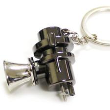 New Blow Off Valve Auto Parts Black Dump Keyring Key Chain Key Ring BOV Turbo