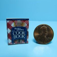 Dollhouse Miniature Replica of Better Homes & Garden Cook Book ~ B158