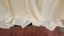 CHIASSO - Tessuto per Tenda a metro in Misto Cotone stropicciato. H. 300 Piombo.