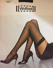 Wolford Individual 10 Stay Up Tights Black Small NWT Nylons Stockings thigh-high