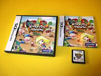 Puzzle de Harvest Moon Nintendo DS Lite DSi XL 3DS 2DS Game w/Case & Manual