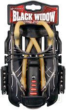 Barnett new BLACK WIDOW Powerful Hunting Slingshot Catapult FREE .38 STEEL AMMO