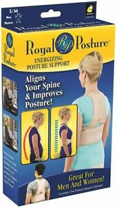 "Royal Posture Back Support Belt S/M Men Waist 25""-36"" Women Size 0-16 Nude"