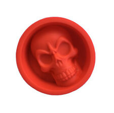 Silicone Cake Decorating Mold Halloween Ghost Skull Muffin Pudding Mould New