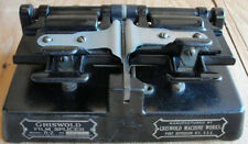 Antique Griswold R-2 Heavy Duty Cast Iron 35mm Motion Picture Movie Film Splicer