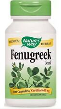 Fenugreek Seed - 100 Caps  - Nature's Way FAST SHIPPING