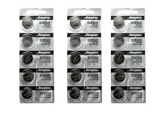 15 Pcs Energizer CR-1632 ECR1632 1632 BR1632 CR1632 Lithium Battery