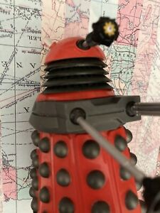 """Doctor Who Red Paradigm Drone Dalek 5.5"""" Inch Action Figure"""