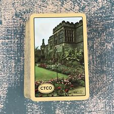 Vintage Playing Cards Souvenir Haddon Hall Derbyshire