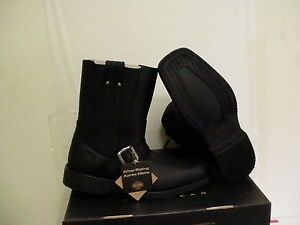 Harley davidson mens riding boots troy size 9 new with box