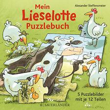 Mein Lieselotte-Puzzlebuch: Puzzlebuch Alexander Steffensmeier