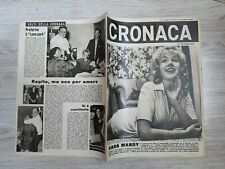 CRONACA 1963 N.39 ELIZA BRANDET (MANDY RICE-DAVIES). I FIGLI DELLA PAURA