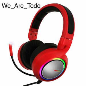 ABKONCORE - B1000R - Real 5.2 Headset Red RGB Lighting, Vivid Vibration