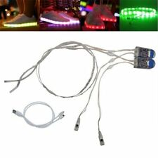 1 Pair USB charging LED shoes strip lights Decoration for Party Show DIY Gifts