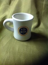 Life is Good Diner Style Ceramic Coffee Mug Do What you Like Like What You Do