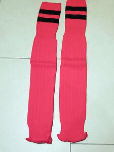 SALE: neue hochwertige Stutzen (footless sock), rot/schwarz, Gr. Senior, Masita