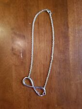 One Direction Silver Infinity Necklace