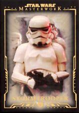 Star Wars 2015 Masterwork Gold Base Card, #37 Stormtrooper, 33/99