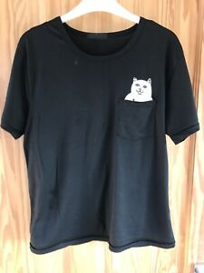 Cat In Pocket Tshirt