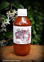 Carolina Reaper 'Death by Fire' Sauce 200ml Shanez Chilli  (Hot Sauce)