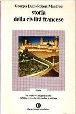 DUBY G., MANDROU R. Storia della civiltà francese. Mondadori, 1974