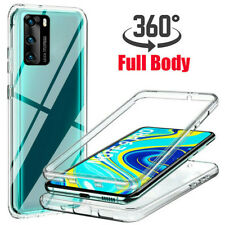 For Huawei P40 P30 Pro P30 P40 Lite E Y5p Y6p 360° Full Protect Clear Case Cover