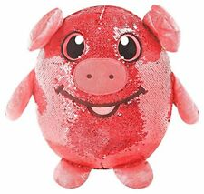 """Shimmeez POLLY PIG  8"""" Flip Sequins Plush NEW  w/ Tags - FREE SHIPPING Hot Toy"""