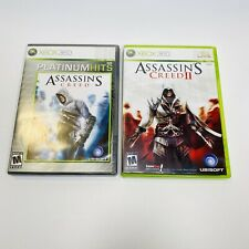 Assassin's Creed Bundle Lot Of 2 Platinum Hits II Microsoft Xbox 360 COMPLETE